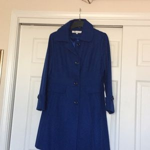 Beautiful Size 12 Royal Blue Pea Coat